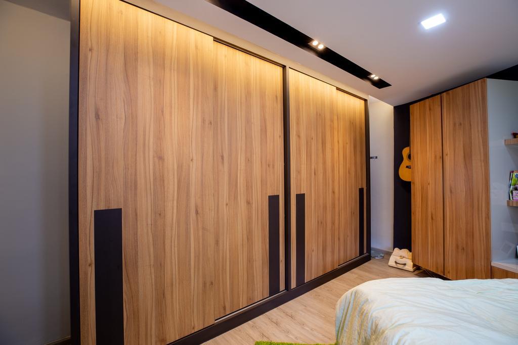 Transitional, HDB, Bedroom, Tampines, Interior Designer, Interior Times