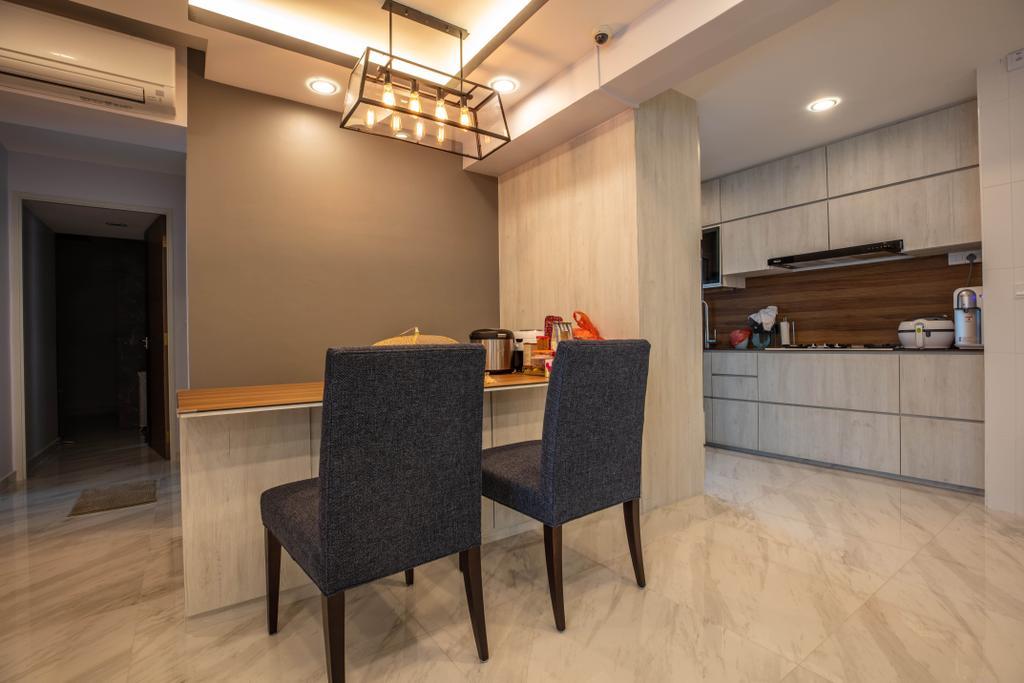 Modern, HDB, Dining Room, McNair Road, Interior Designer, Interior Times