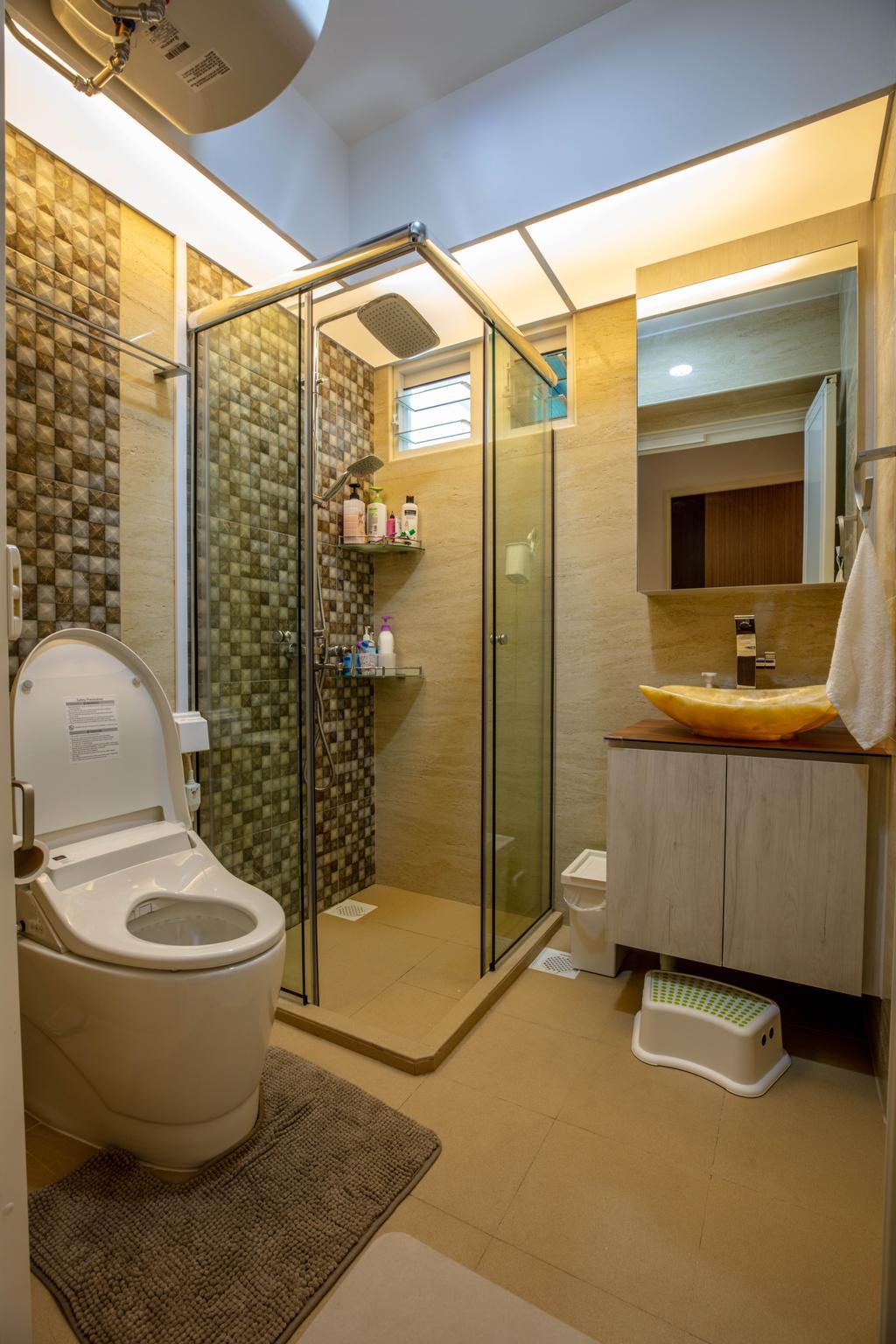 Modern, HDB, Bathroom, McNair Road, Interior Designer, Interior Times