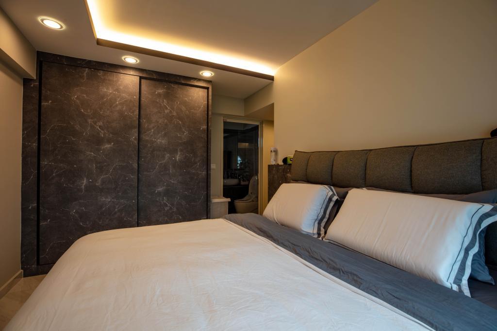 Modern, HDB, Bedroom, McNair Road, Interior Designer, Interior Times