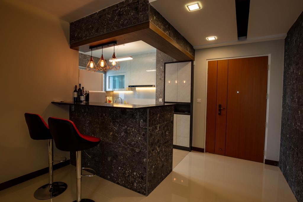 Contemporary, HDB, Dining Room, Bedok, Interior Designer, Interior Times