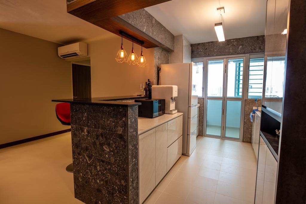 Contemporary, HDB, Kitchen, Bedok, Interior Designer, Interior Times