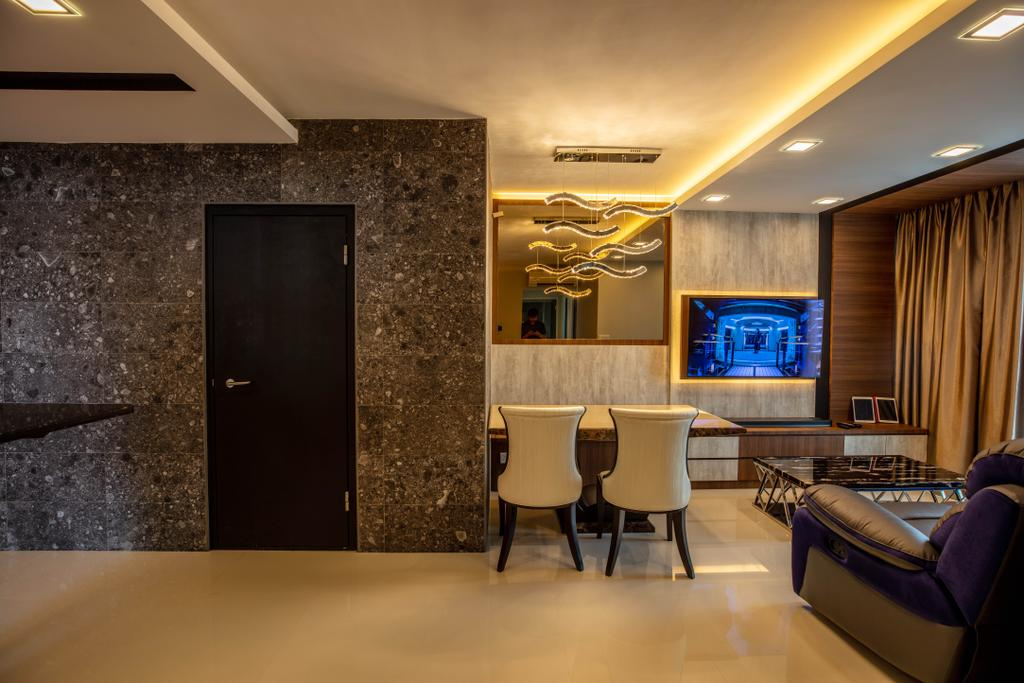 Contemporary, HDB, Living Room, Bedok, Interior Designer, Interior Times