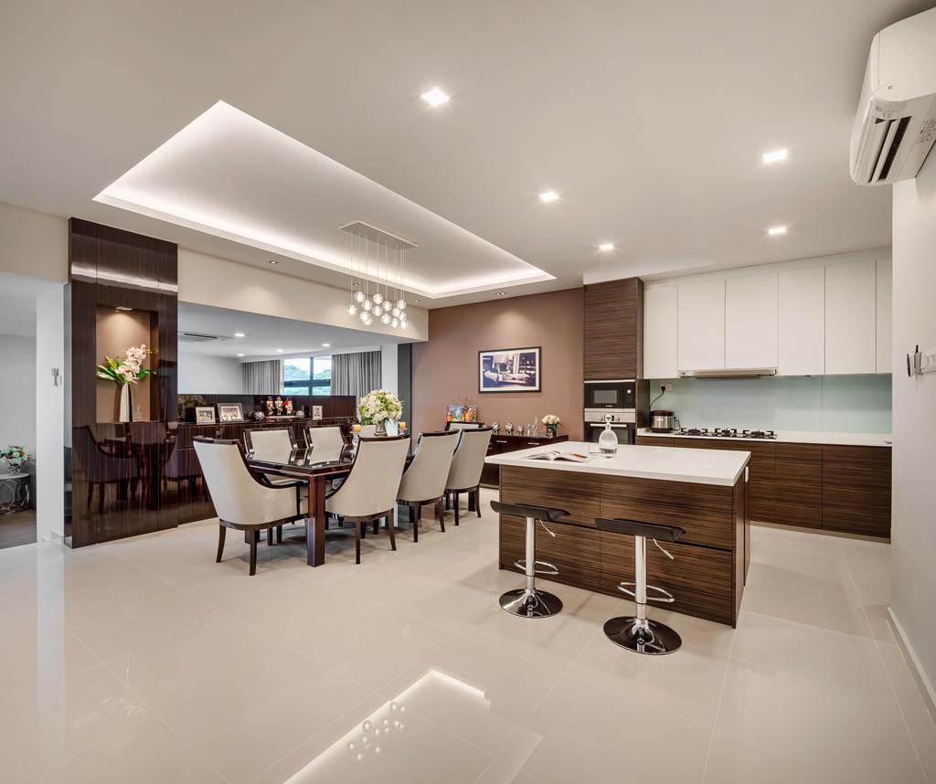Modern, Condo, Kitchen, Mandarin Gardens, Interior Designer, Anhans Interior Design, Contemporary