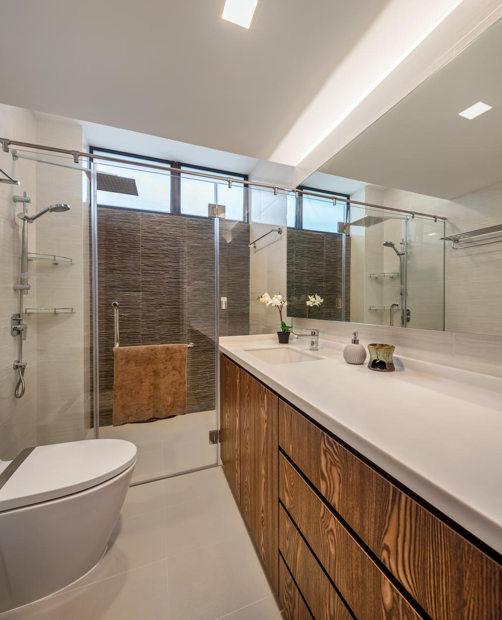 Modern, Condo, Bathroom, Mandarin Gardens, Interior Designer, Anhans Interior Design, Contemporary