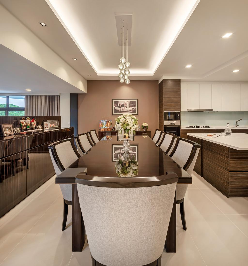 Modern, Condo, Dining Room, Mandarin Gardens, Interior Designer, Anhans Interior Design, Contemporary