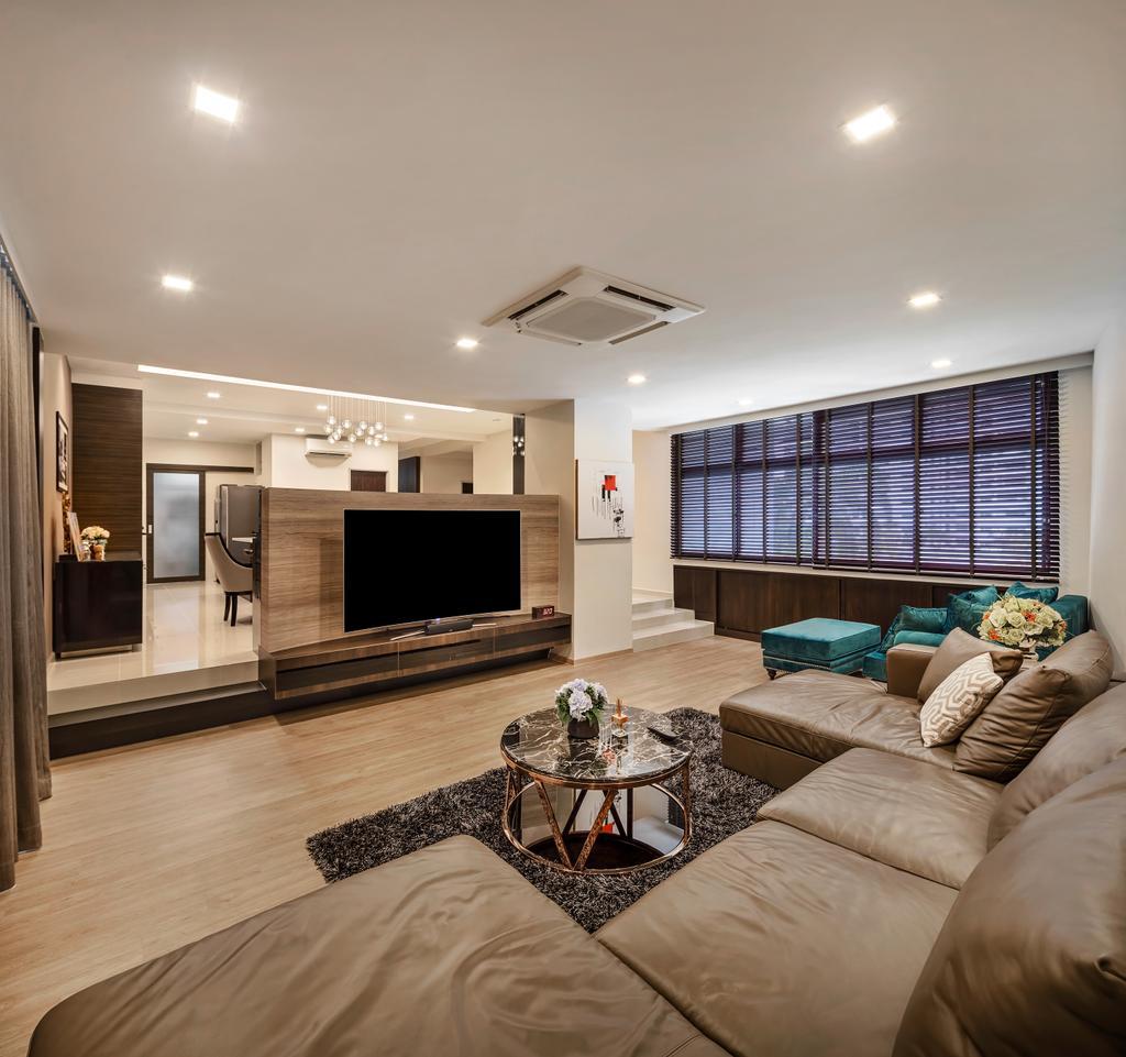 Modern, Condo, Living Room, Mandarin Gardens, Interior Designer, Anhans Interior Design, Contemporary