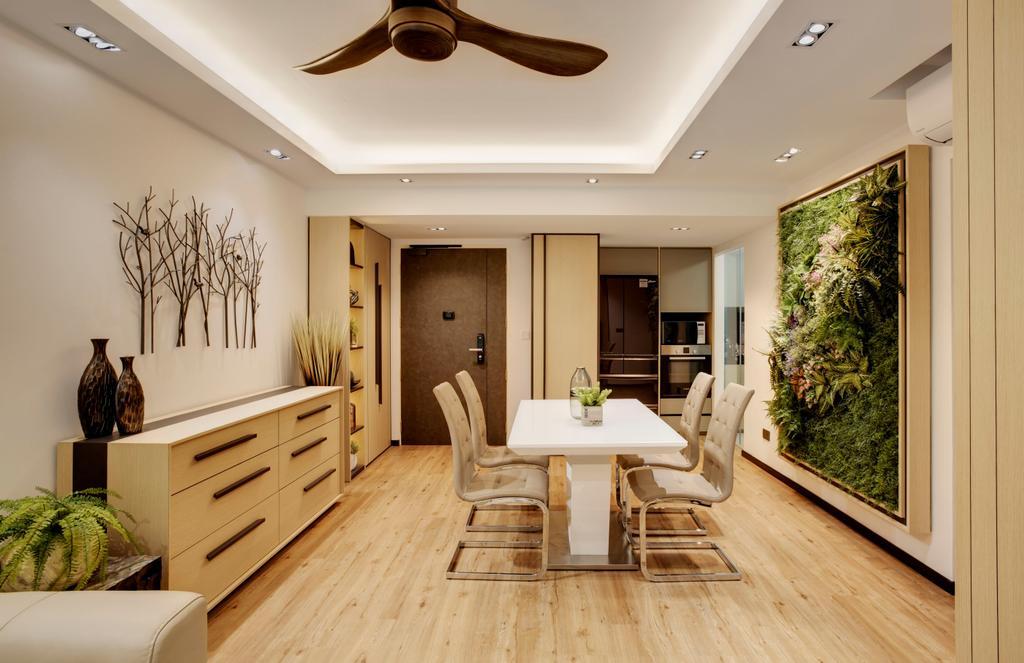 Modern, HDB, Dining Room, Telok Blangah (Block 90A), Interior Designer, Juz Interior