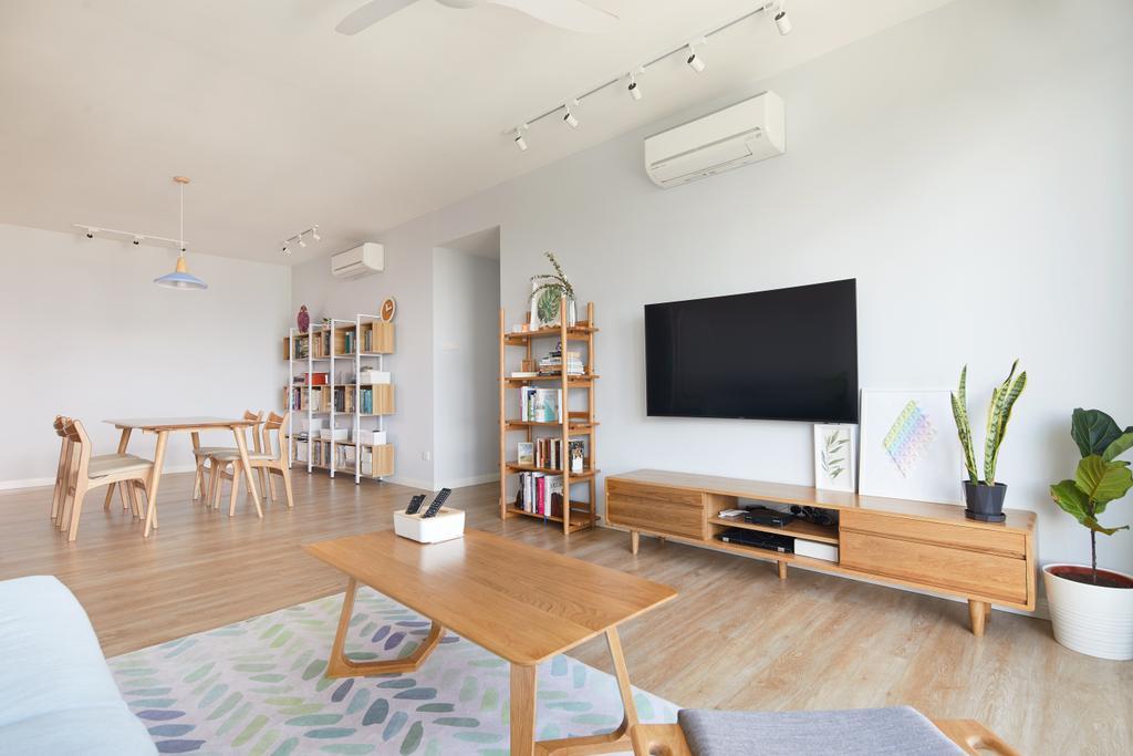 Scandinavian, Condo, Queenstown, Interior Designer, Design 4 Space