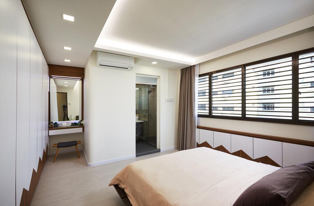 Contemporary, HDB, Bedroom, Jurong West, Interior Designer, Design 4 Space