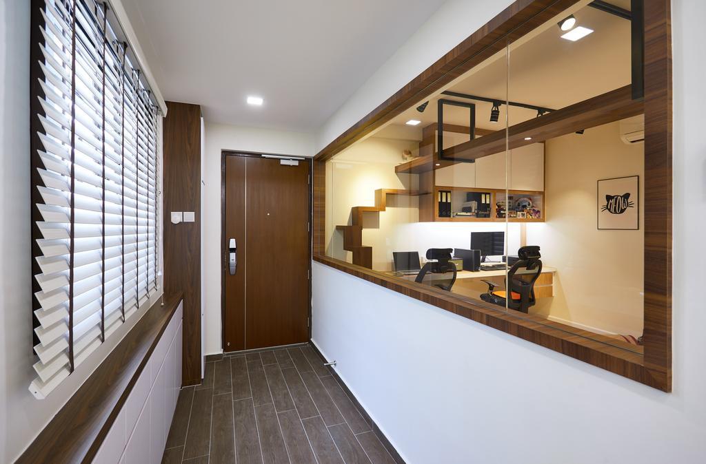 Contemporary, HDB, Jurong West, Interior Designer, Design 4 Space
