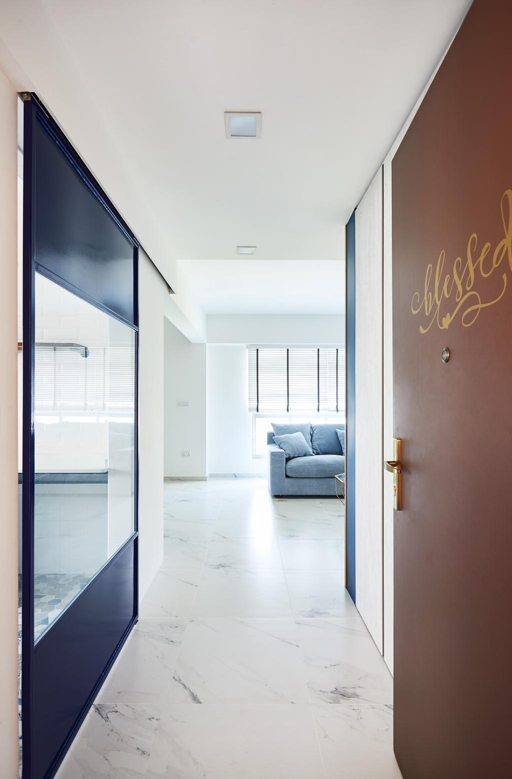 Contemporary, HDB, Senja Road, Interior Designer, Design 4 Space, Modern