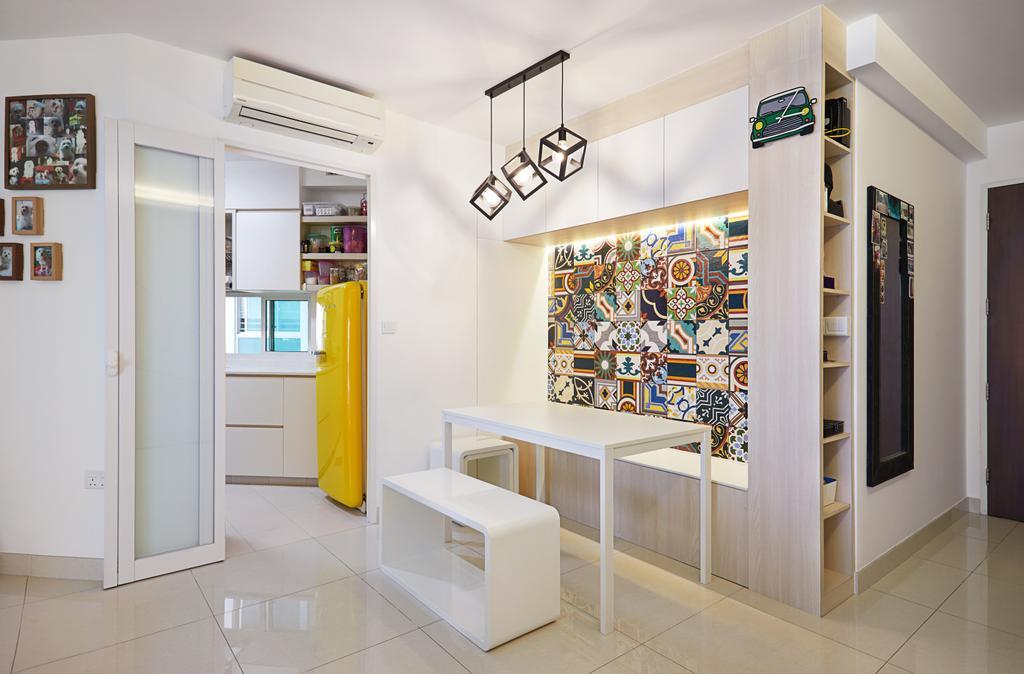 HDB, Dining Room, Ang Mo Kio Street 52, Interior Designer, Design 4 Space