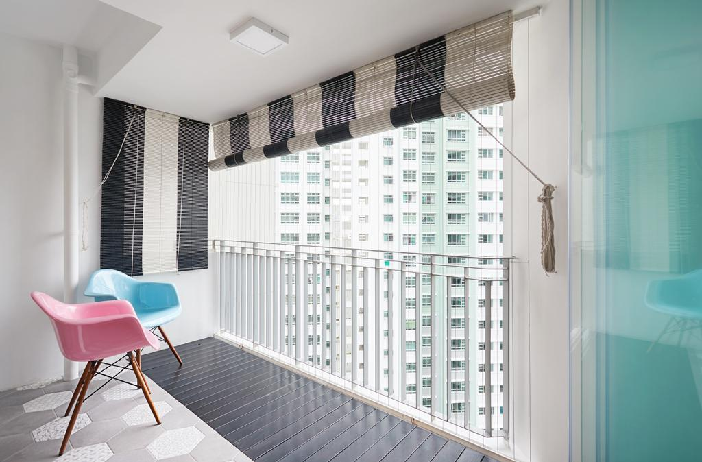 HDB, Balcony, Ang Mo Kio Street 52, Interior Designer, Design 4 Space