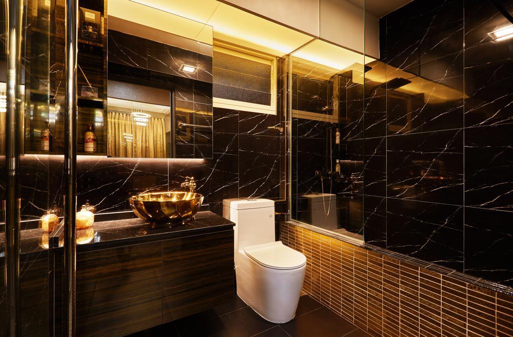 HDB, Bathroom, Bukit Batok, Interior Designer, Design 4 Space