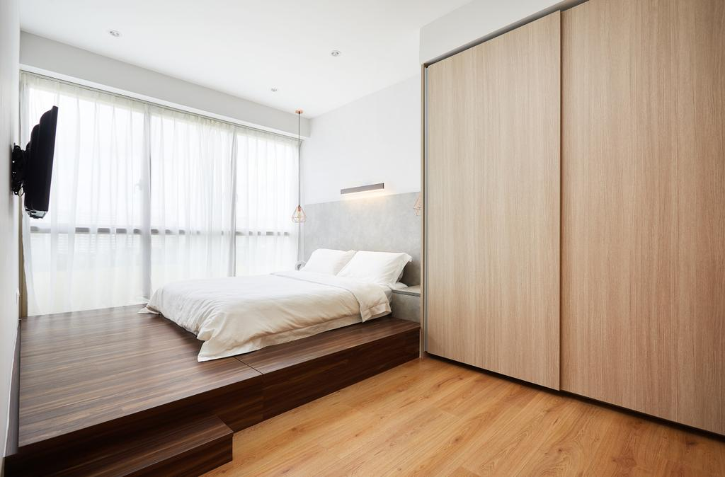 Modern, Condo, Bedroom, The Vales, Interior Designer, Design 4 Space, Contemporary