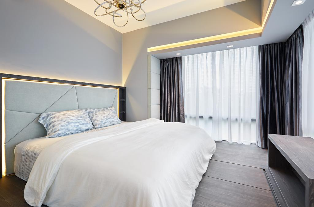 Minimalistic, Condo, Bedroom, L'viv, Interior Designer, Design 4 Space