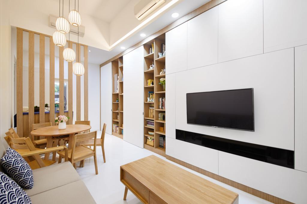 Modern, Condo, Living Room, The Quinn, Interior Designer, Design 4 Space, Scandinavian