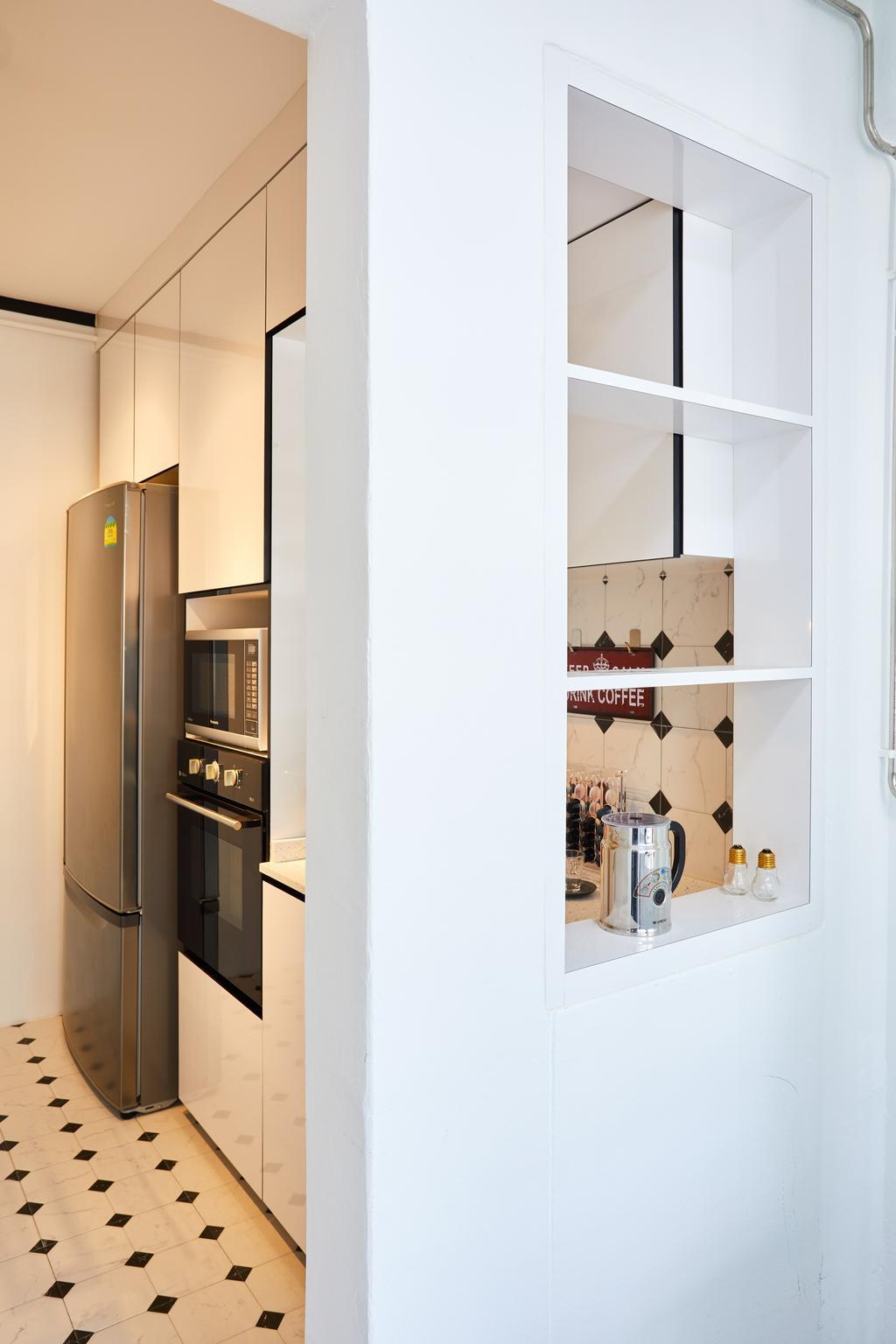 Industrial, HDB, Pasir Ris Street 71, Interior Designer, Design 4 Space