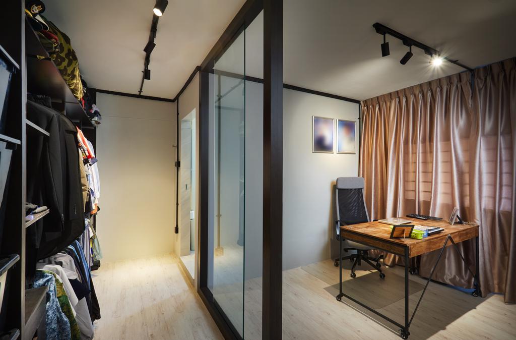Industrial, HDB, Study, Pasir Ris Street 71, Interior Designer, Design 4 Space