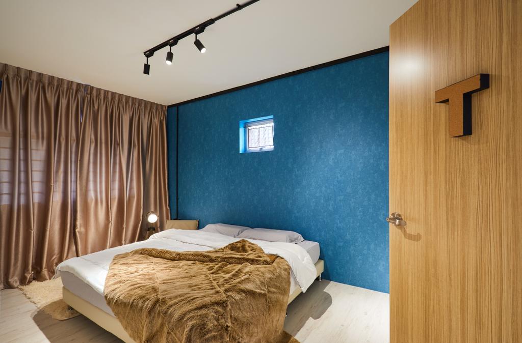 Industrial, HDB, Bedroom, Pasir Ris Street 71, Interior Designer, Design 4 Space
