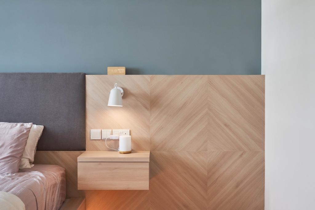 Scandinavian, HDB, Bedroom, Yishun Ring Road, Interior Designer, Lemonfridge Studio