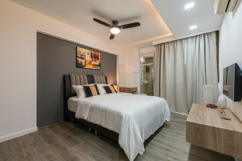 Modern, HDB, Bedroom, Simei Street 1, Interior Designer, Couple Abode