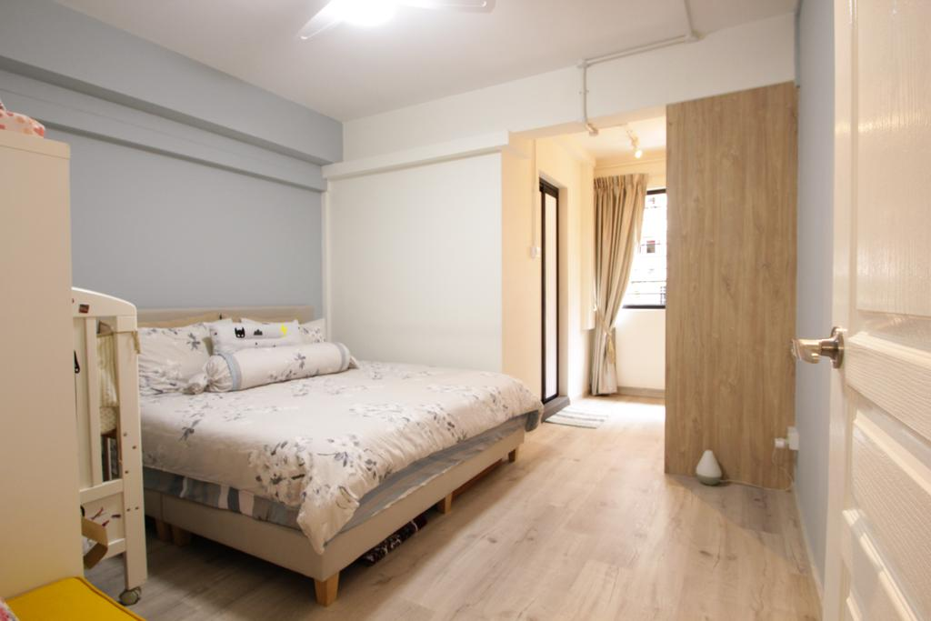 Contemporary, HDB, Bedroom, Bishan Street 22, Interior Designer, Couple Abode