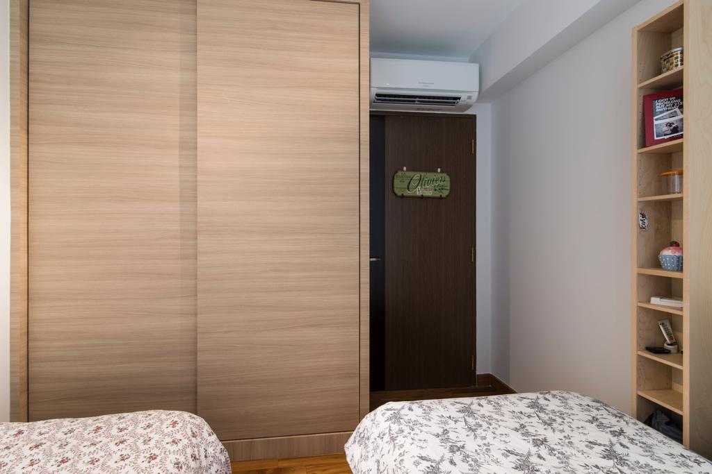 Contemporary, HDB, Bedroom, Anchorvale Crescent, Interior Designer, Couple Abode