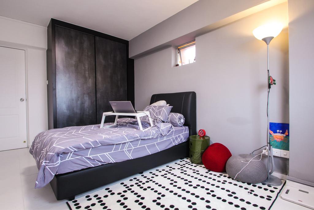 Contemporary, HDB, Bedroom, Choa Chu Kang Avenue 4, Interior Designer, Couple Abode
