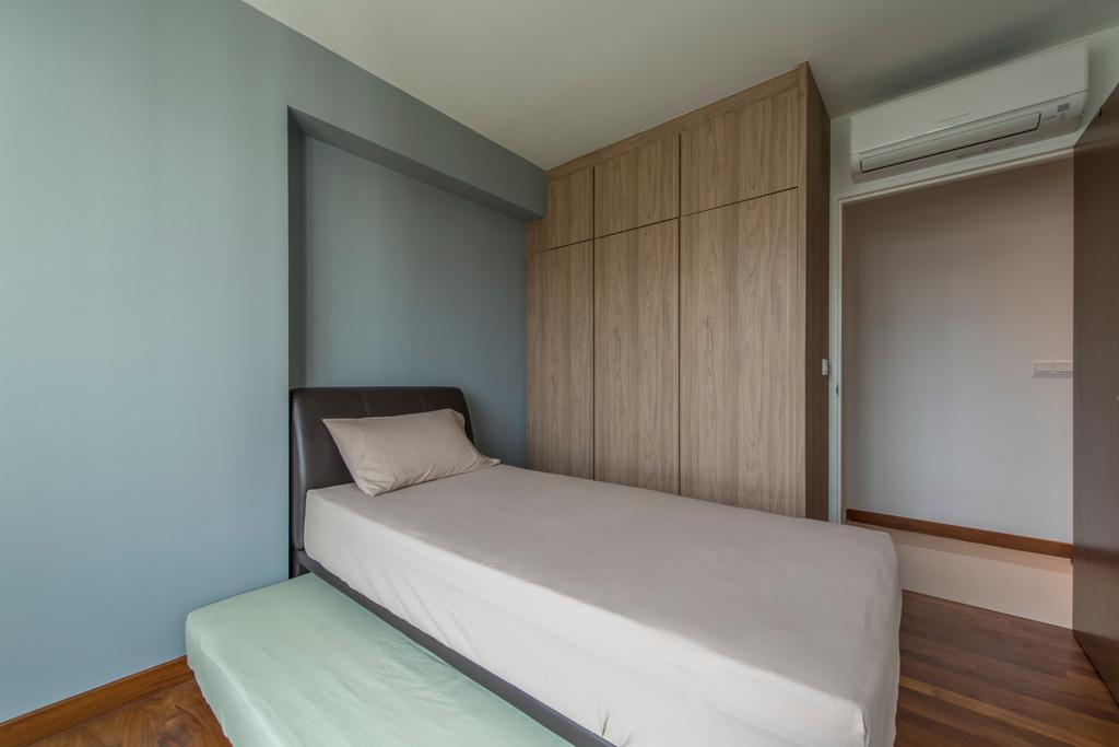 Modern, HDB, Bedroom, Edgefield Plains, Interior Designer, Couple Abode