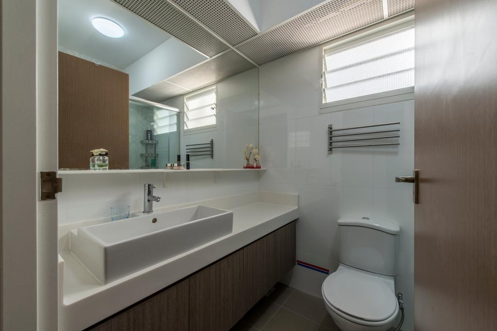 Modern, HDB, Bathroom, Edgefield Plains, Interior Designer, Couple Abode