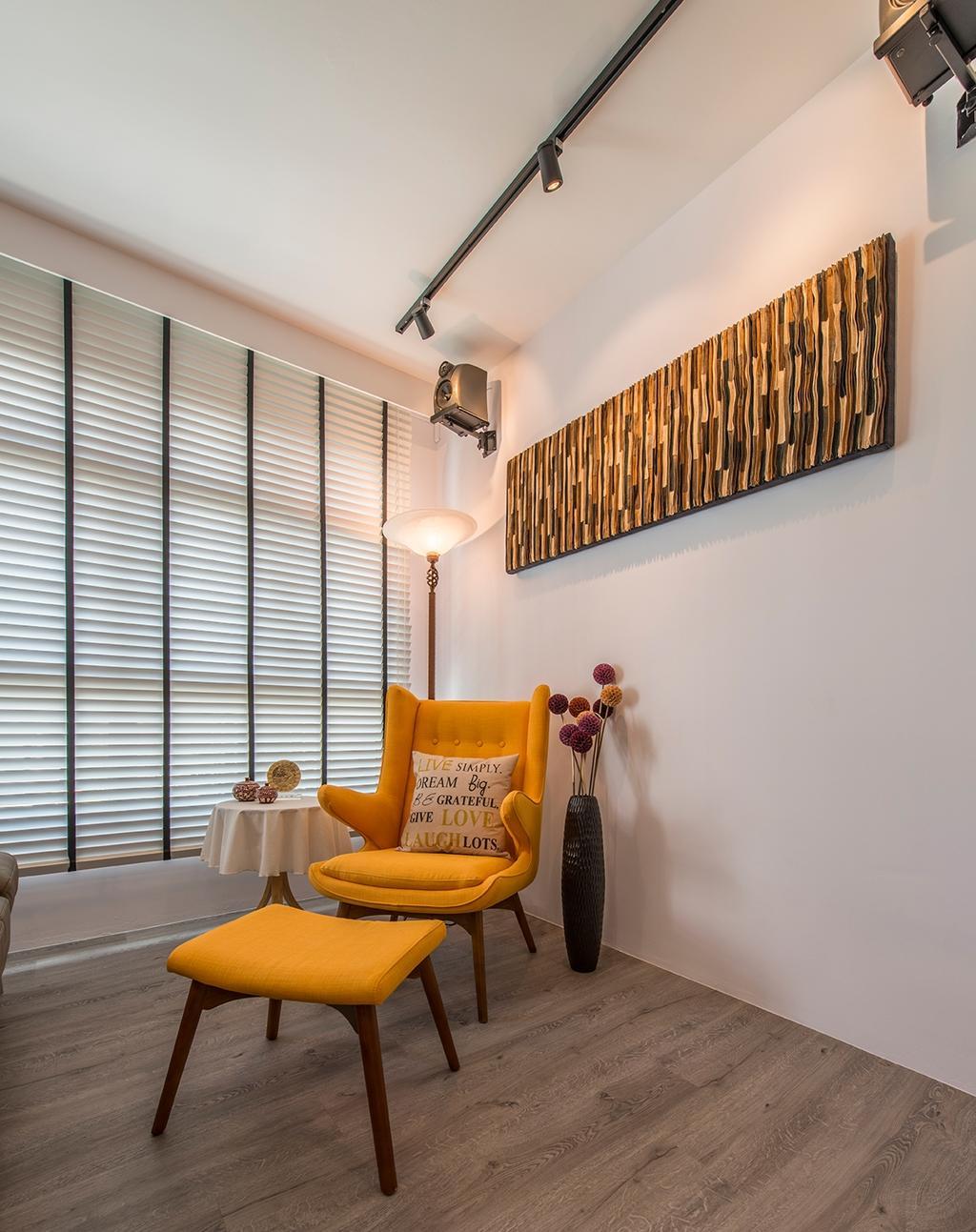 Contemporary, HDB, Tampines Street 86, Interior Designer, Couple Abode