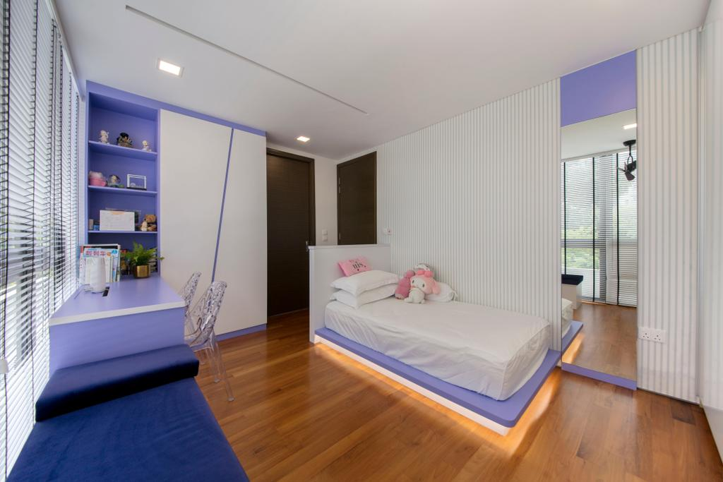 Modern, Landed, Bedroom, Buckly Road, Interior Designer, Edge Interior
