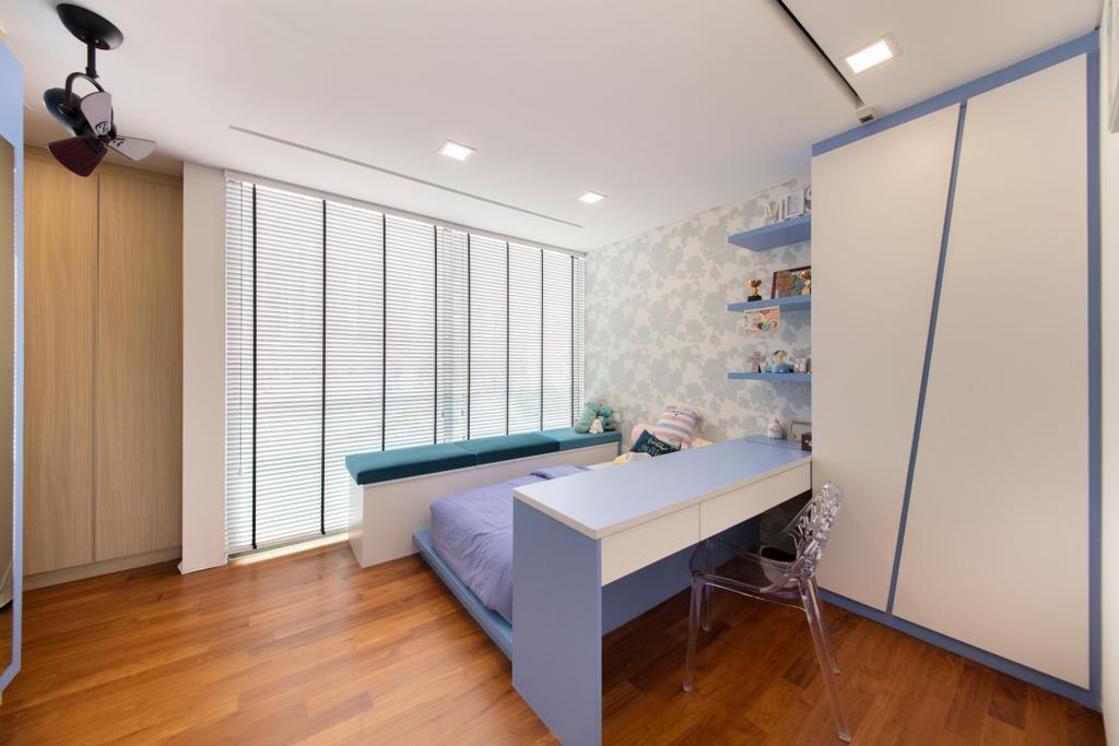 Modern, Landed, Bedroom, Buckly Road, Interior Designer, Edge Interior