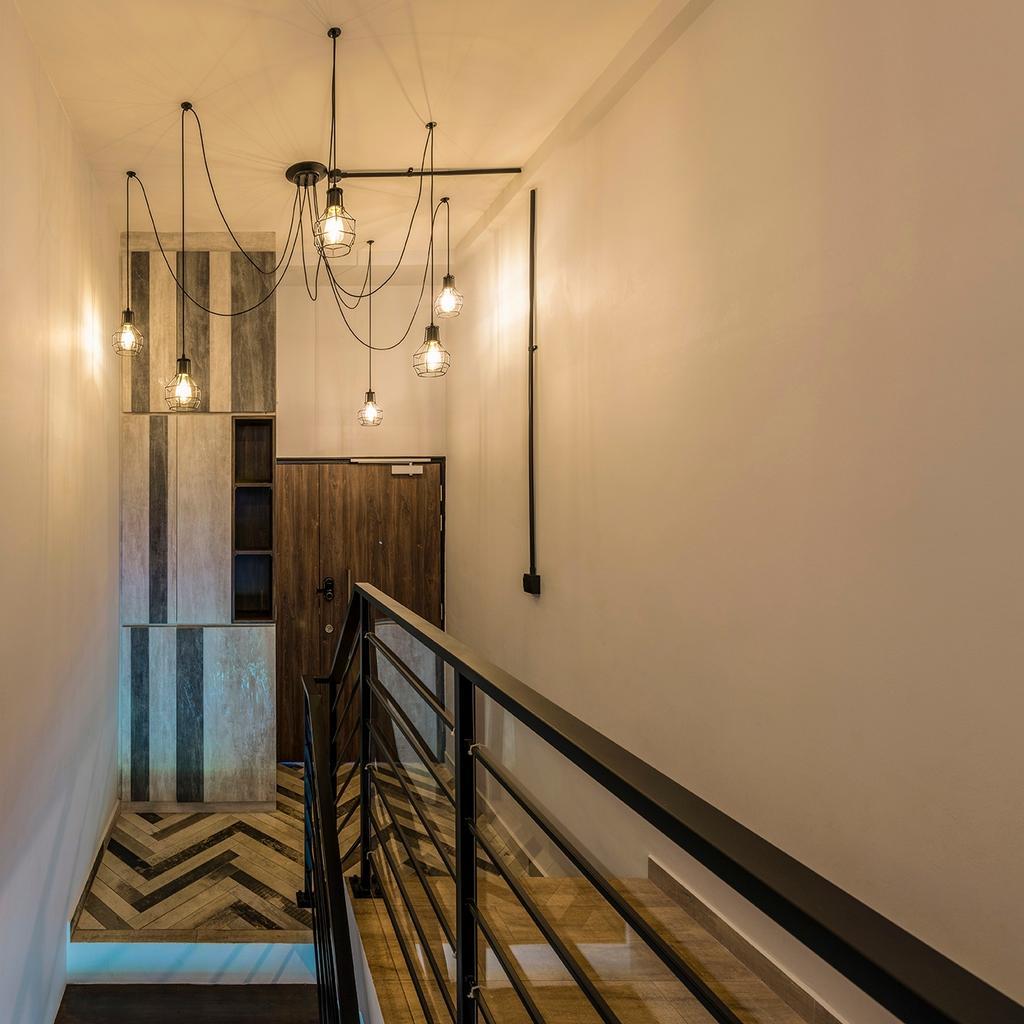Industrial, Condo, Living Room, Ontario Avenue, Interior Designer, Meter Square