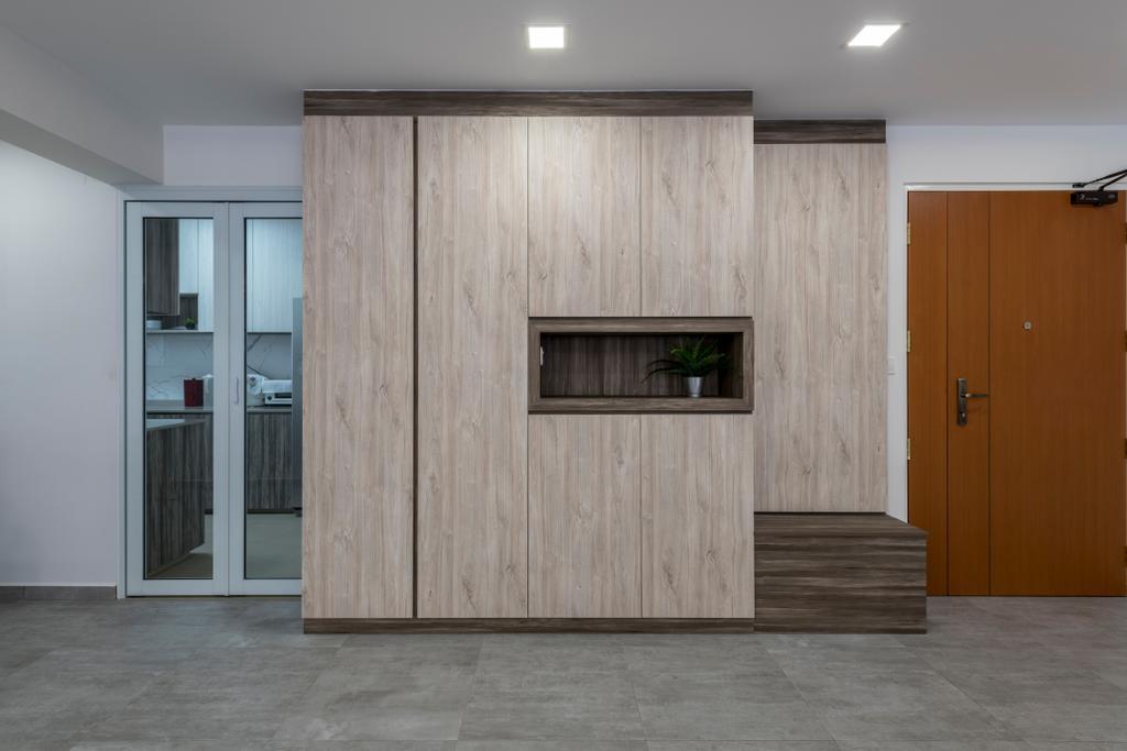 Contemporary, HDB, Living Room, Bukit Batok Avenue 8, Interior Designer, Meter Square
