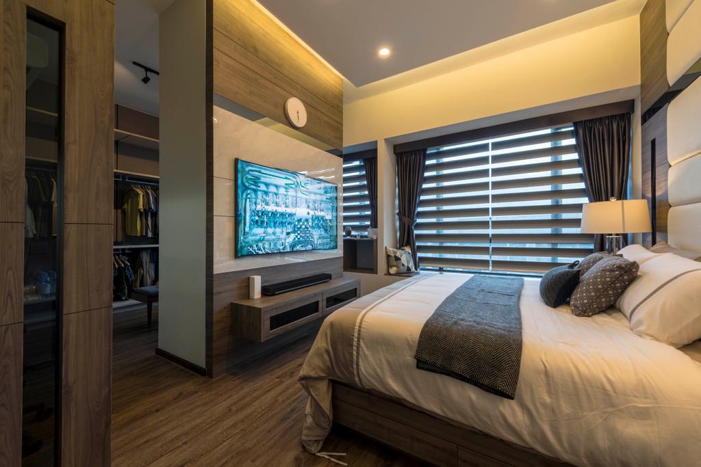 Contemporary, Condo, Bedroom, D'Nest, Interior Designer, Meter Square