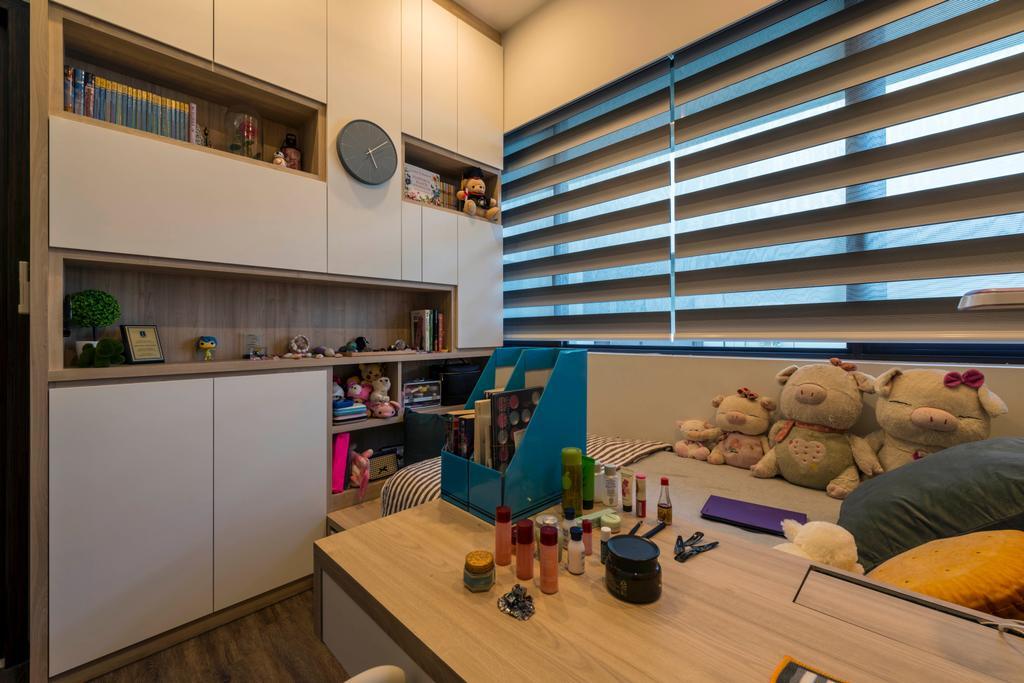 Contemporary, Condo, D'Nest, Interior Designer, Meter Square