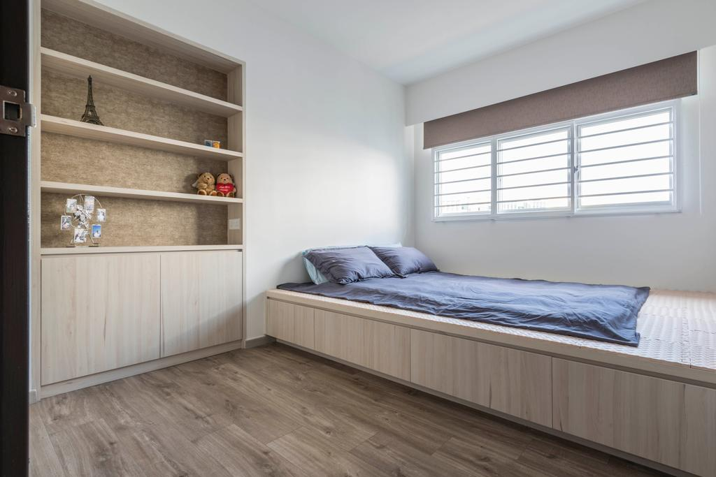 Contemporary, HDB, Bedroom, Woodlands Drive 73, Interior Designer, Meter Square