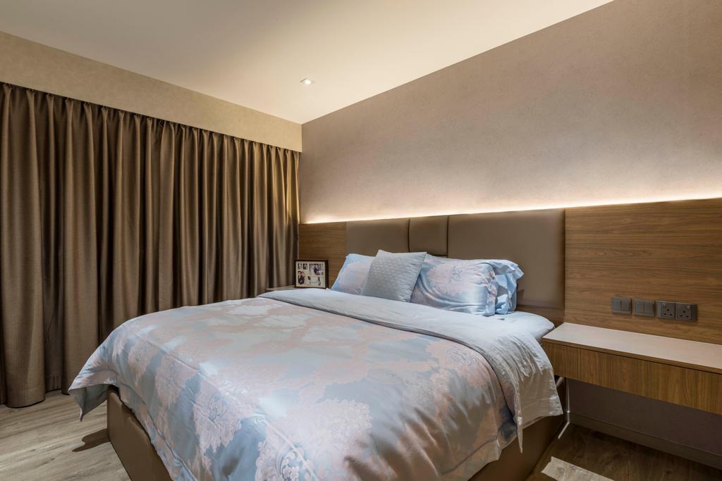 Contemporary, HDB, Bedroom, Woodlands Drive 73, Interior Designer, Meter Square