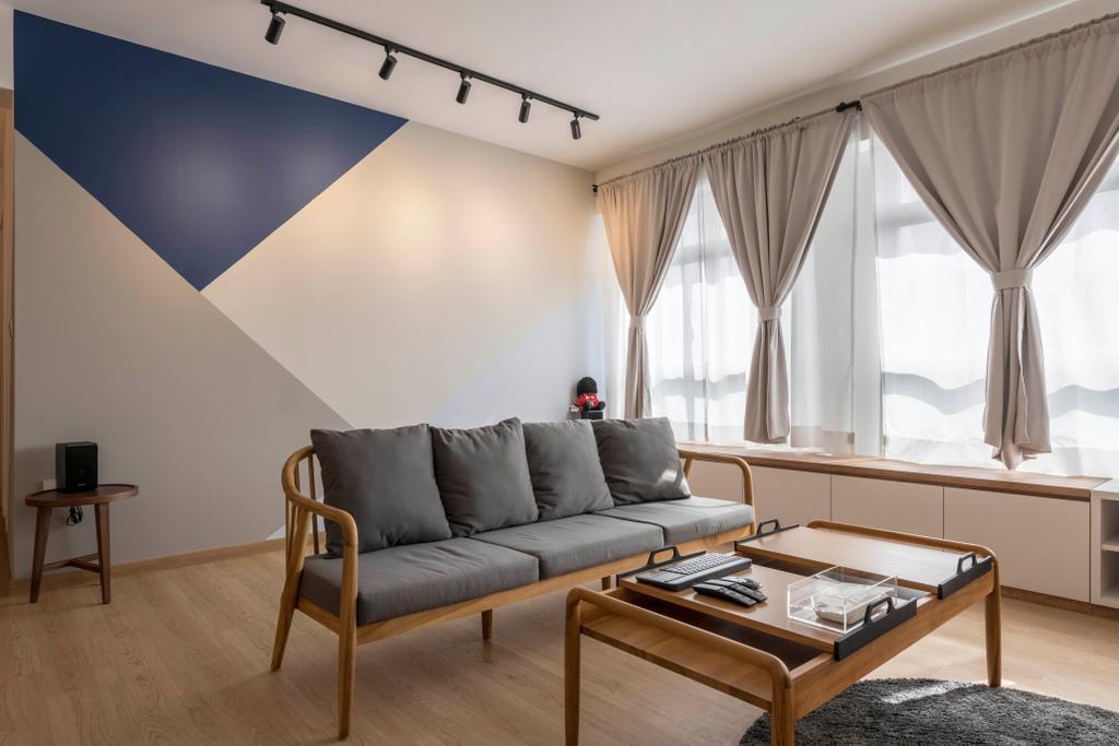 Scandinavian, HDB, Living Room, Bukit Batok Avenue 8, Interior Designer, Meter Square