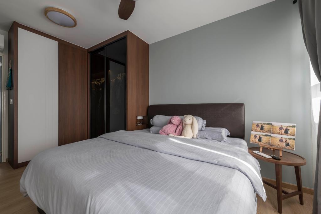 Scandinavian, HDB, Bedroom, Bukit Batok Avenue 8, Interior Designer, Meter Square