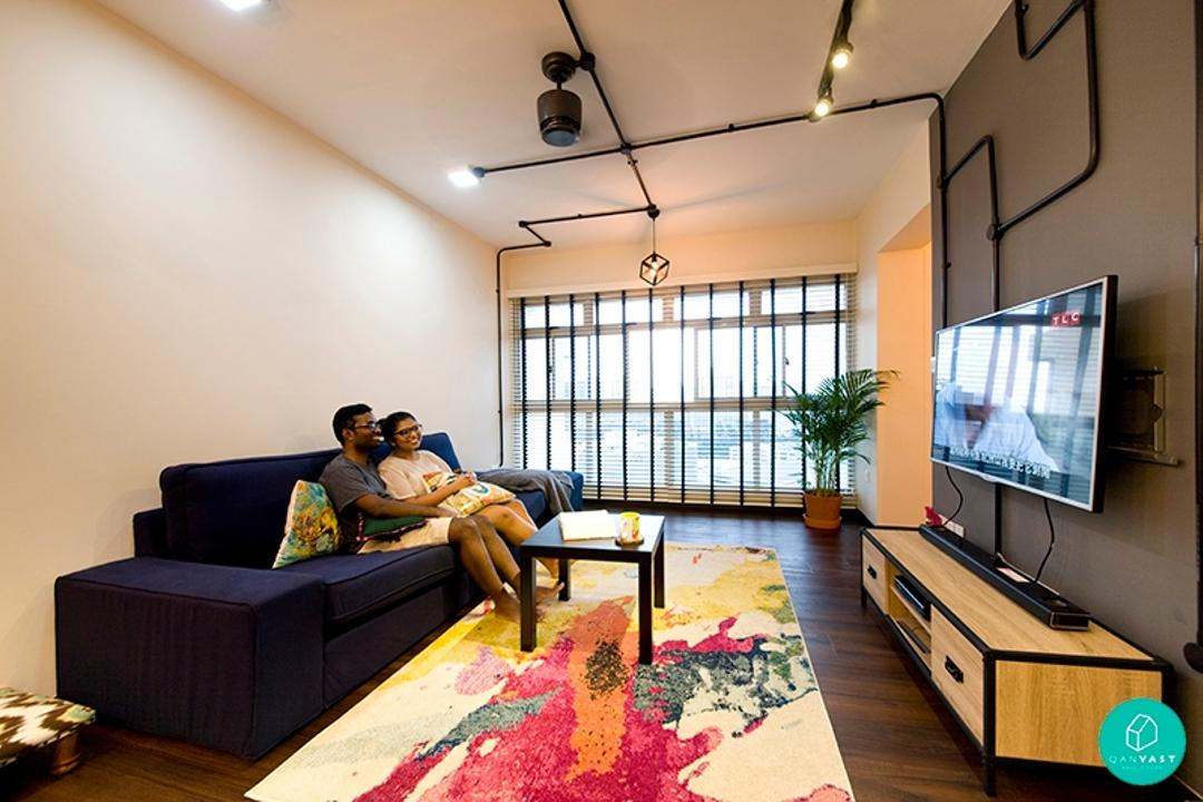 Renovation Journey: A Burst Of Colours In This Industrial Pad 2