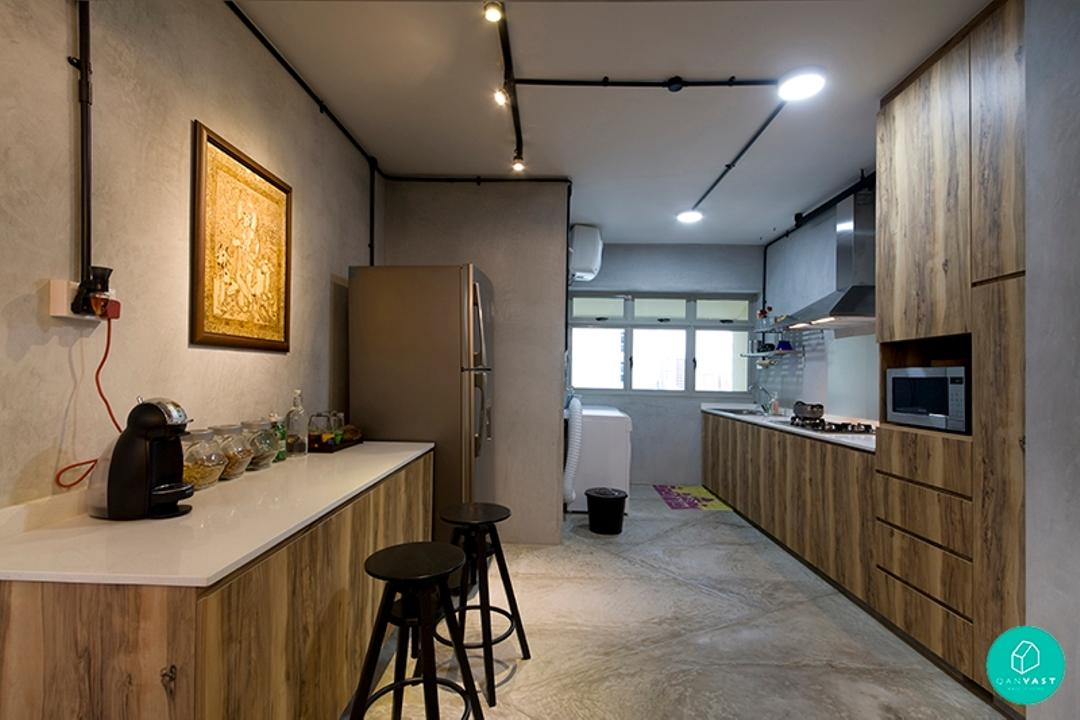 Renovation Journey: A Burst Of Colours In This Industrial Pad