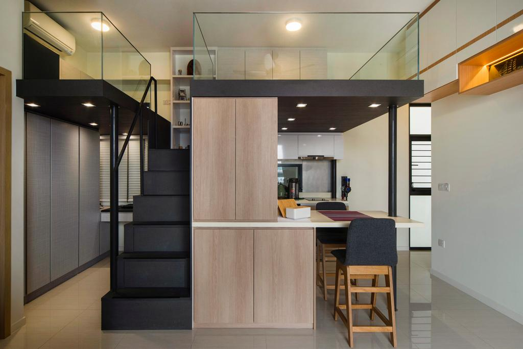 Modern, Condo, Dining Room, Boathouse Residences, Interior Designer, Cozy Ideas Interior Design, Loft