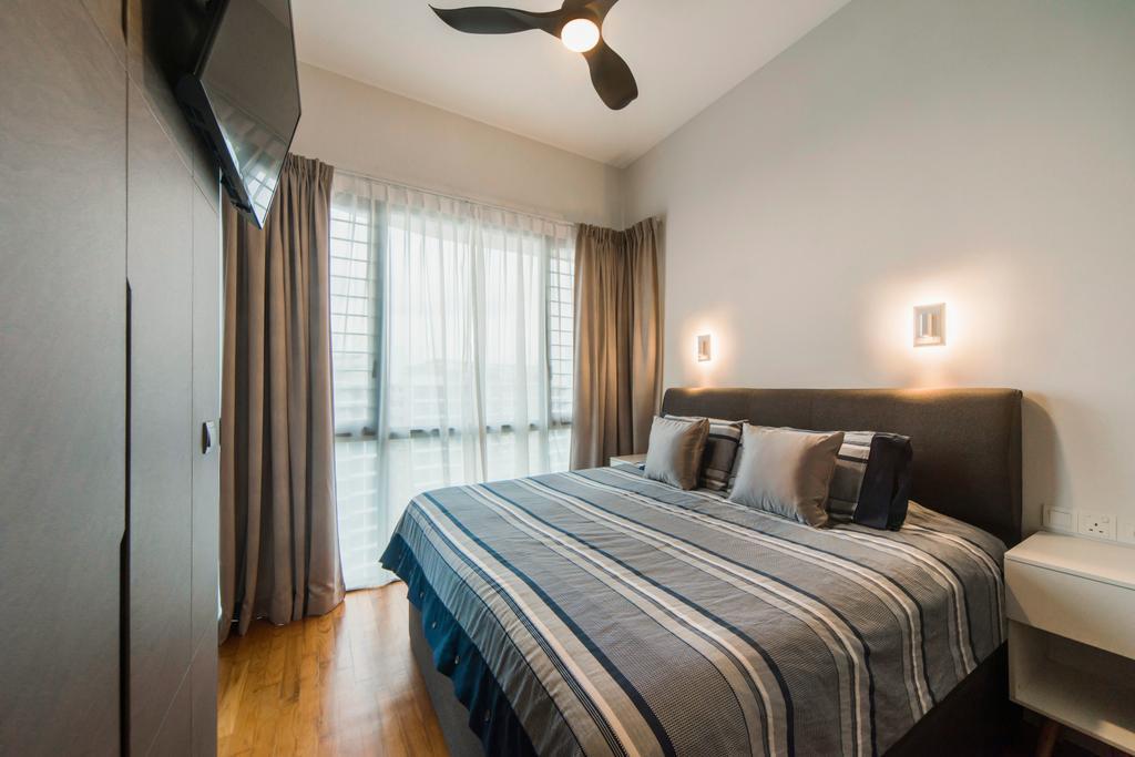 Modern, Condo, Bedroom, Boathouse Residences, Interior Designer, Cozy Ideas Interior Design