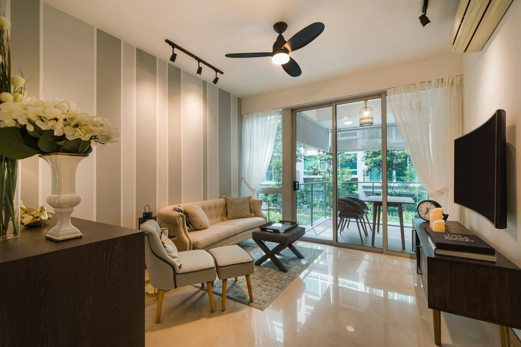 Contemporary, Condo, Living Room, Mount Sophia, Interior Designer, Cozy Ideas Interior Design