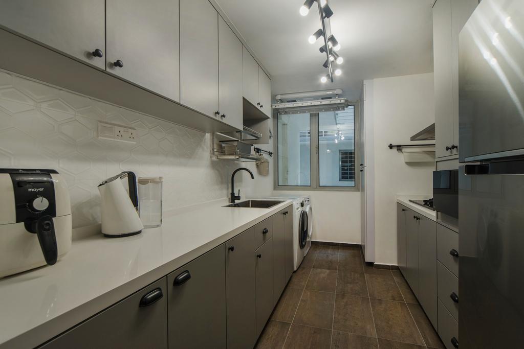 Contemporary, Condo, Kitchen, Mount Sophia, Interior Designer, Cozy Ideas Interior Design