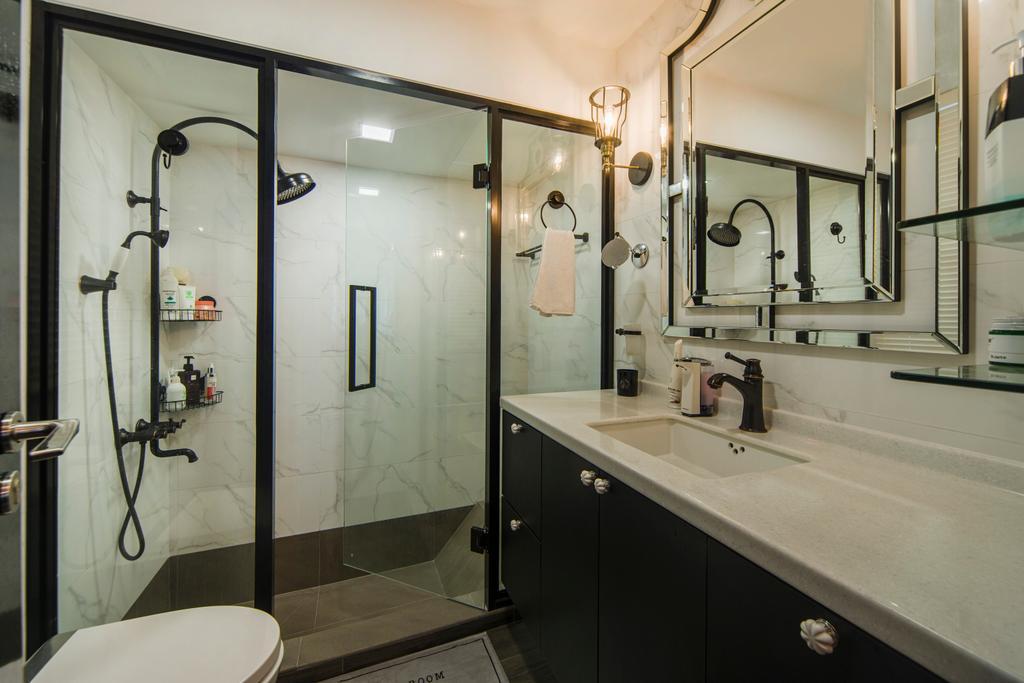 Contemporary, Condo, Bathroom, Mount Sophia, Interior Designer, Cozy Ideas Interior Design